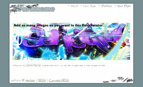 Product picture Grafitheme wordpress theme
